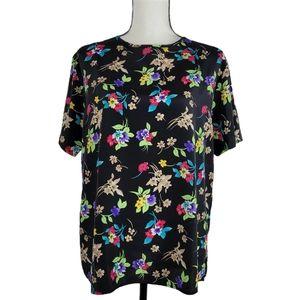 Women's Summer floral blouse Large TR Bentley
